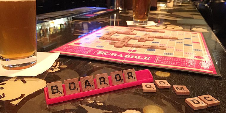 Scrabble at Board Room